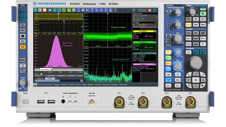 R&S®RTO2000 oscilloscopes